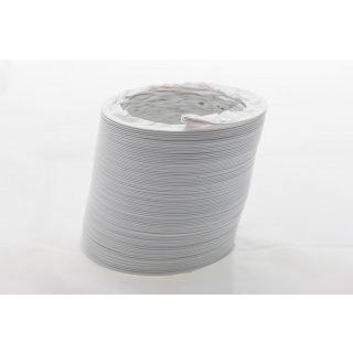 Abluftschlauch PVC flexibel Ø 125 / 127 mm, 3 m z.B. für Klimaanlagen, Wäschetrockner, Abzugshaube